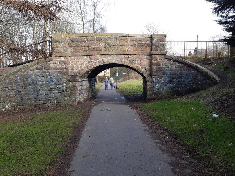 Sharp's Lane bridge, Dundee