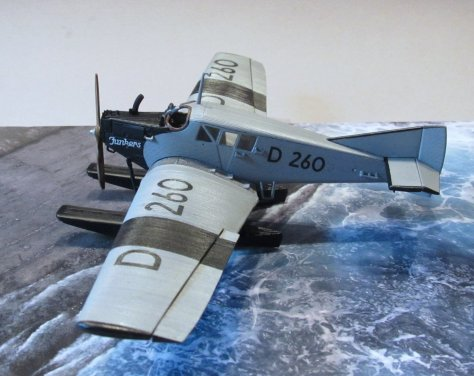 Revell 1/72 Junkers F13 D 260 completed 3
