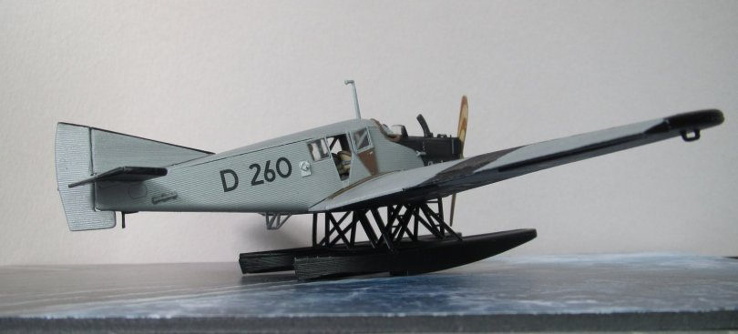 Revell 1/72 Junkers F13 D 260 completed 7