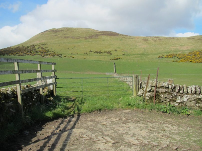 Westerkeith Hill from West Keith Farm