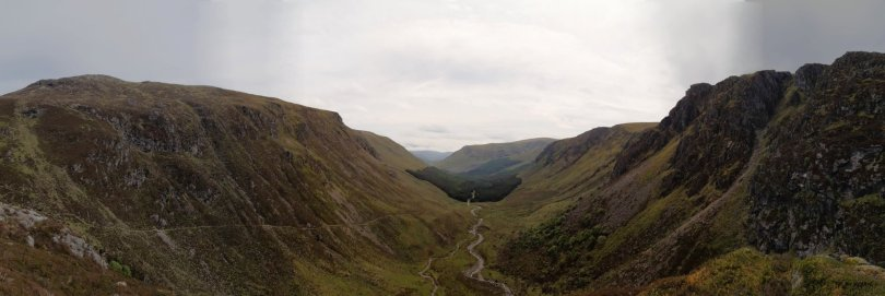 Panorama of Glen Doll from The Lunkard