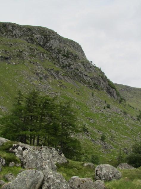 Juanjorge cliffs, Glen Clova