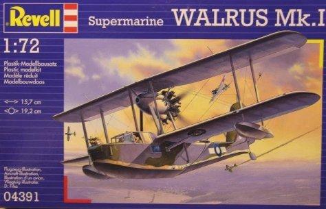 Revell 1/72 Supermarine Walrus box art