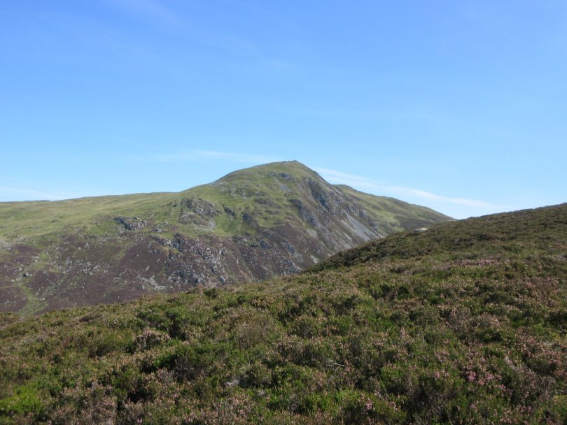 Ben Vrackie from the western approach