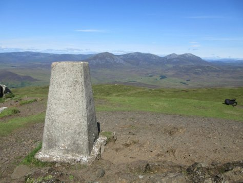 Beinn a' Ghlo from Ben Vrackie