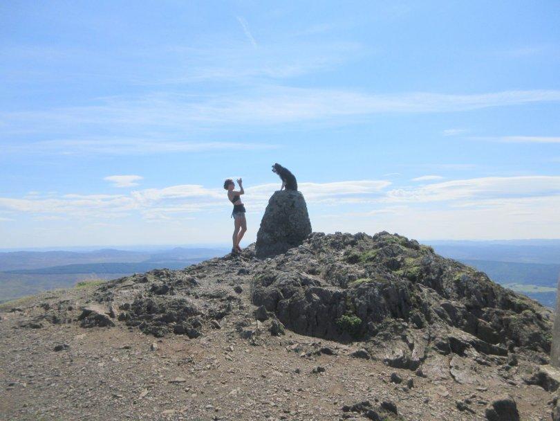 Summit of Ben Vrackie