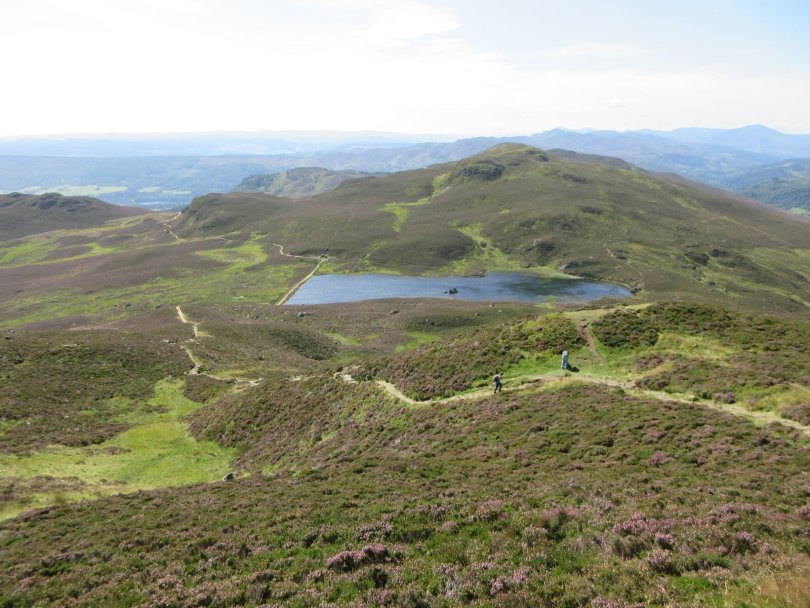 Loch a' Choire and the Ben Vrackie path