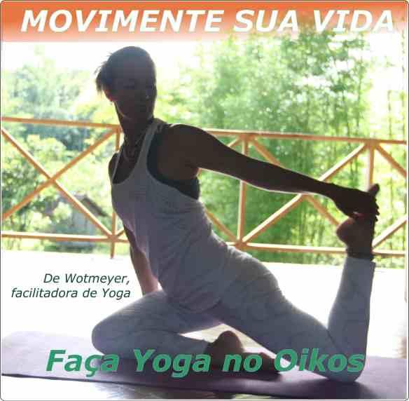 Faça Yoga no Oikos 1