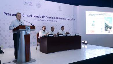 Photo of San Luis Potosí alcanzará 98% de cobertura eléctrica con el Fondo de Servicio Universal Eléctrico