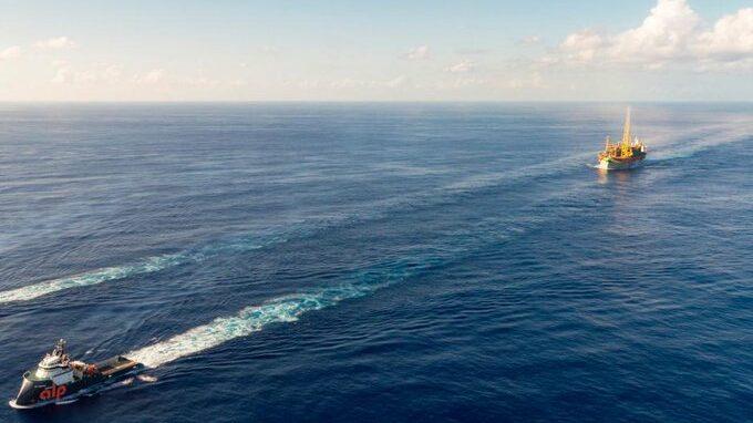 FPSO Destiny llega a Guayana 1