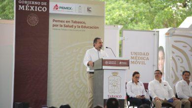 Photo of Entrega Pemex apoyos en salud y mobiliario educativo para 11 municipios de Tabasco