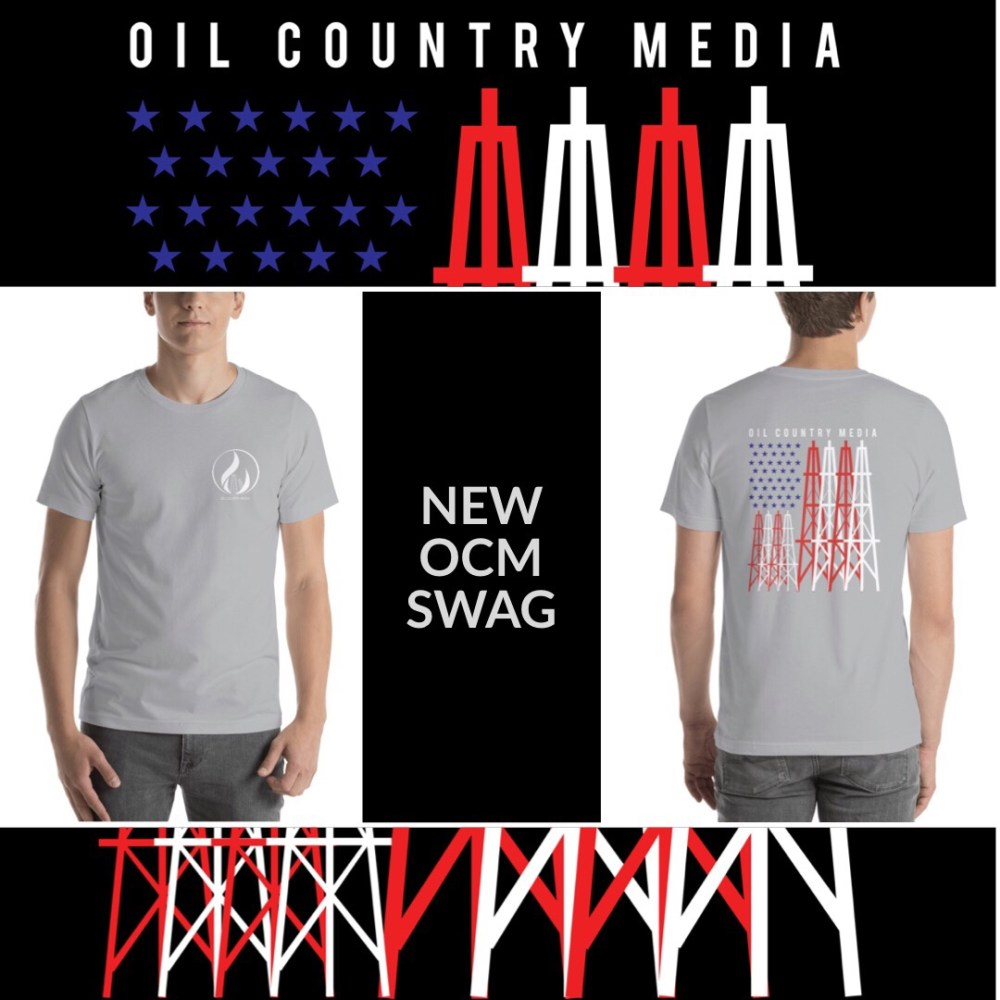 Oil Country Media Gear - Silver Tee