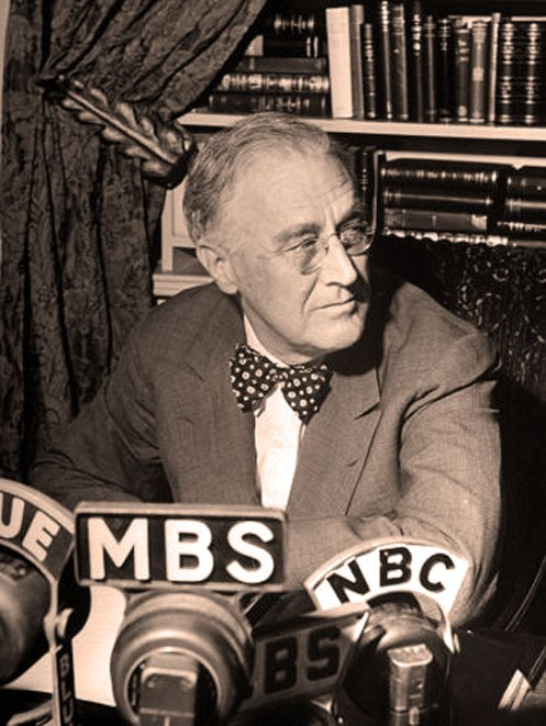 FDR in 1944 - Felt it was time for a second Bill of Rights.