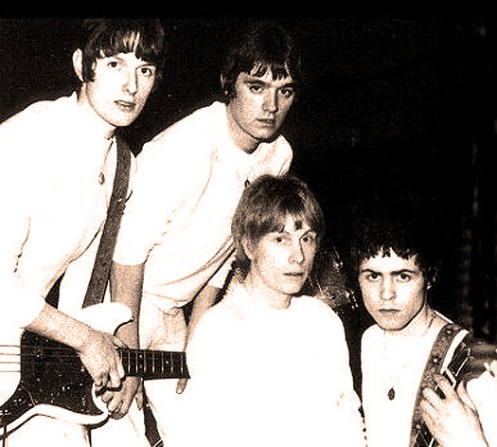 John's Children circa 1967 - blame it on the guy in the front row on the right.
