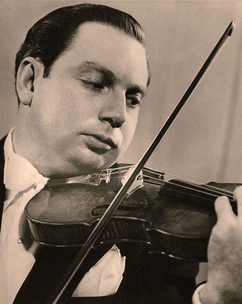Issac Stern - in 1950, still a wunderkind.