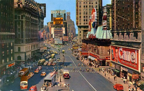 It's a safe bet that 98% of the sounds that represented New York in 1956 don't represent New York today.