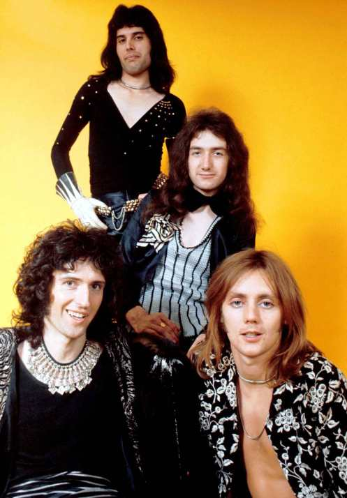 Queen - humble beginnings, but no lack of energy.