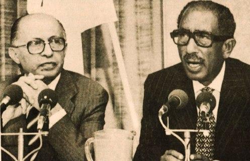 Begin-Sadat - God knows, they tried.