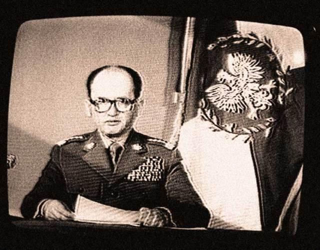 Wojciech Jaruzelski - Deer in the headlights, but had all the tanks.