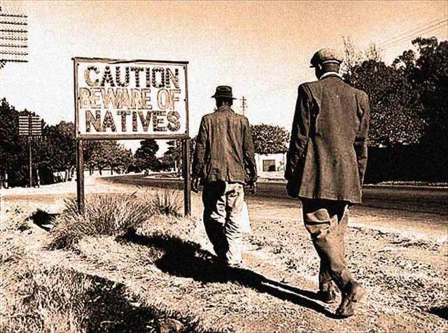 Apartheid extended even into the radio studio.