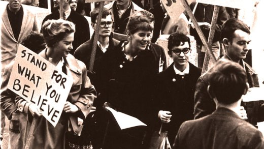 Trouble At The Knowledge Factory – Berkeley Free Speech Movement – December 2, 1964