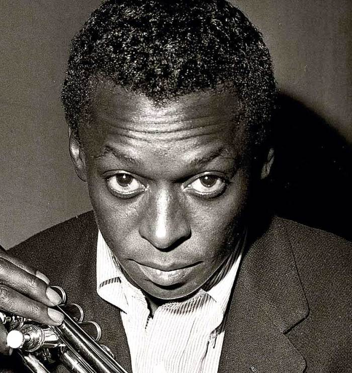 Miles Davis - another pivotal figure in the abrupt change 1964 signaled.