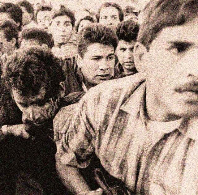 Alleged assassin Mario Aburto Martinez - in a split second, pandemonium.