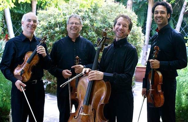 The Fine Arts Quartet - one of the oldest performing Quartets in America.