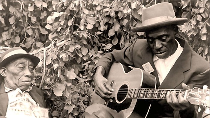 Mississippi John Hurt and Skip James - Bringing a taste of rural Americana to Boston in 1964.