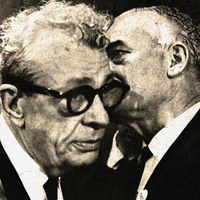 Dirksen and Goldwater - Hoping Vietnam would be the October Surprise.
