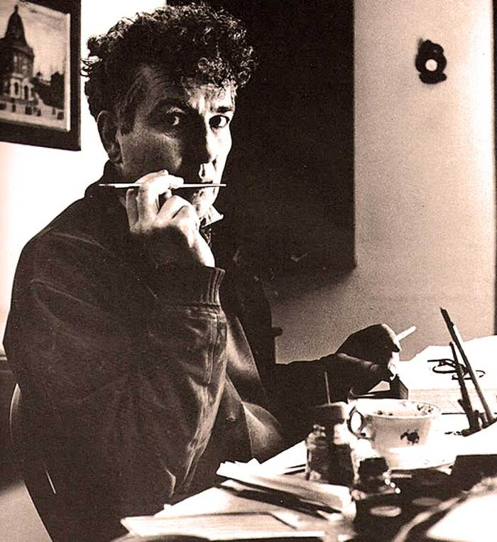 Writer Robert Graves - who knew a thing or two about Magic Mushrooms.