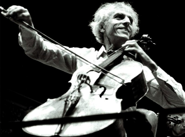 Paul Tortelier - got the blessings of none other than Pablo Casals.