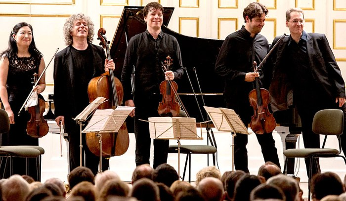 Steven Isserlis and Friends - a splendid time was guaranteed for all.