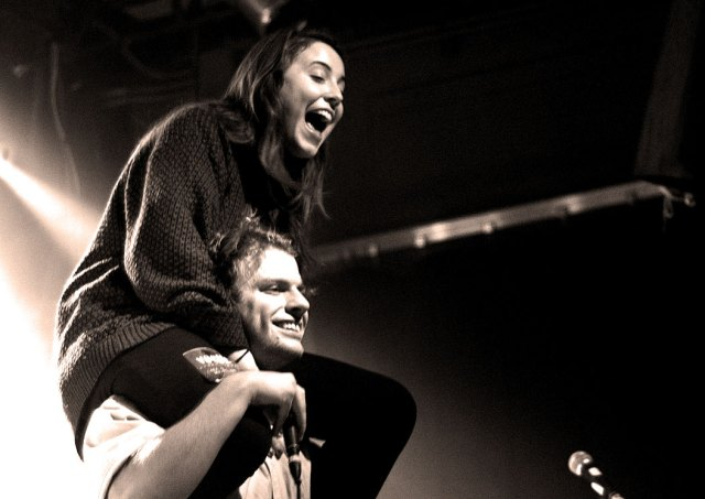 Mac DeMarco and fan - each concert is a folksy excursion through mayhem.