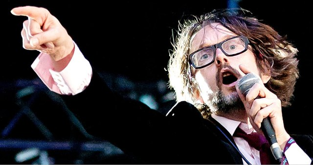 """Jarvis Cocker of Pulp - once characterized as a """"cross between Abba and The Fall""""."""