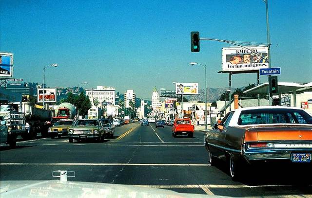 L.A. in 1979 - looking north towards Hollywood. Everything's changed and nothing's changed.