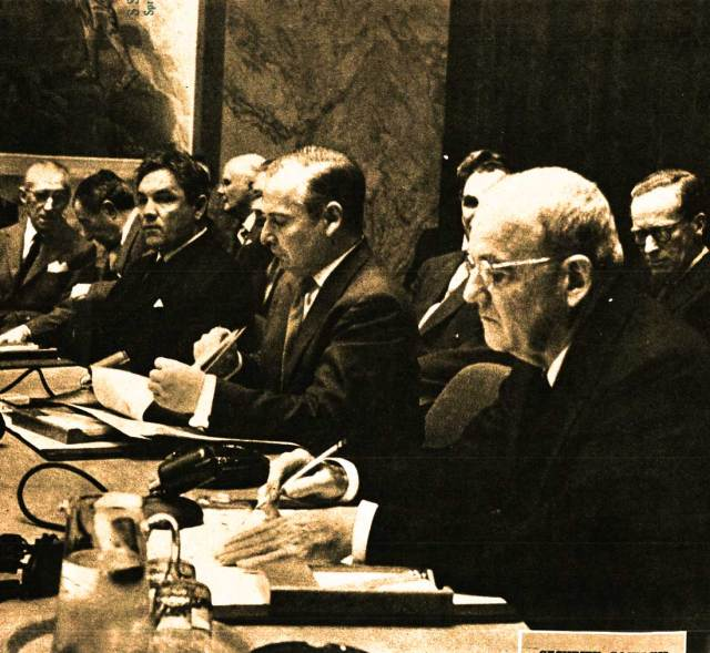 In November of 1956, it was a coin toss as to whether today's crisis was in Hungary or The Suez