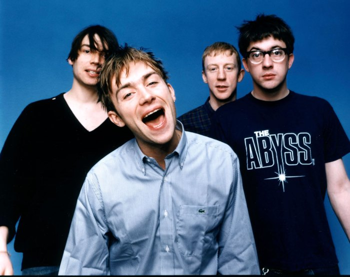 Blur -  Mid-90s energy boost.