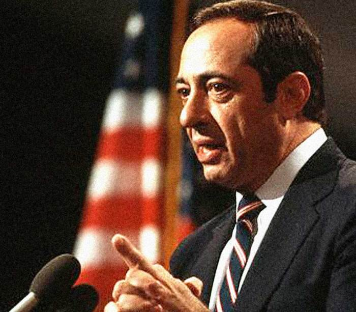 Gov. Mario Cuomo - electrified an audience, galvanized a convention.