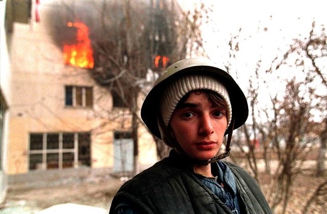 The view from Chechnya.