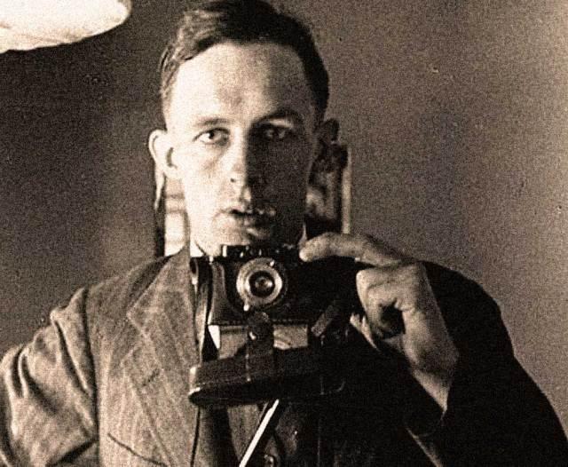 Edmund Leach in 1934 -  Selfie before there were Selfies.