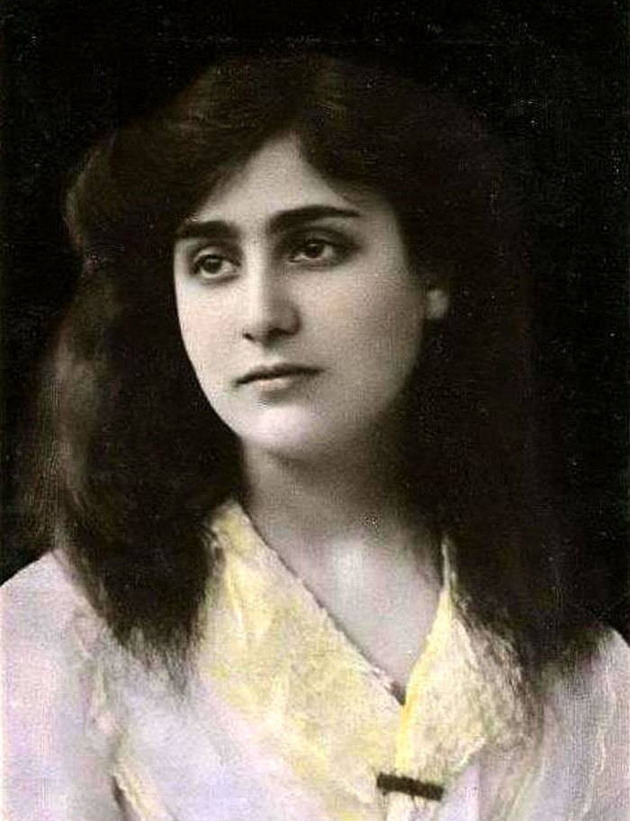 Dame Myra Hess- around the time of her debut. One of the most brilliant pianists of the 20th century - maybe ever.