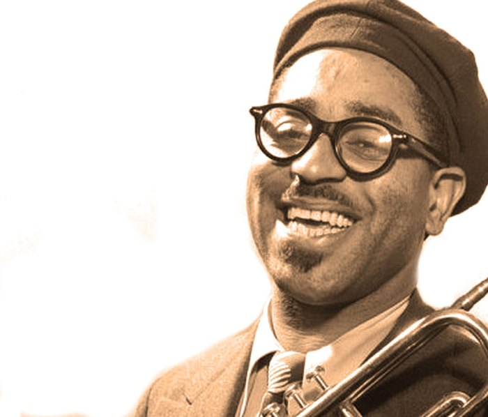 "Dizzy Gillespie -  The man who personified what Louis Armstrong called ""Chinese Music""."