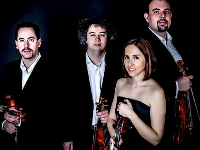 Tana Quartet - tackling a world premier.