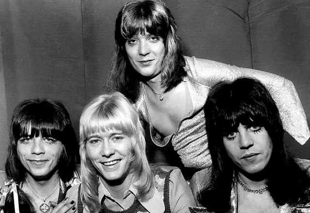 The Sweet - a band that came to epitomize Glam in the 70s.