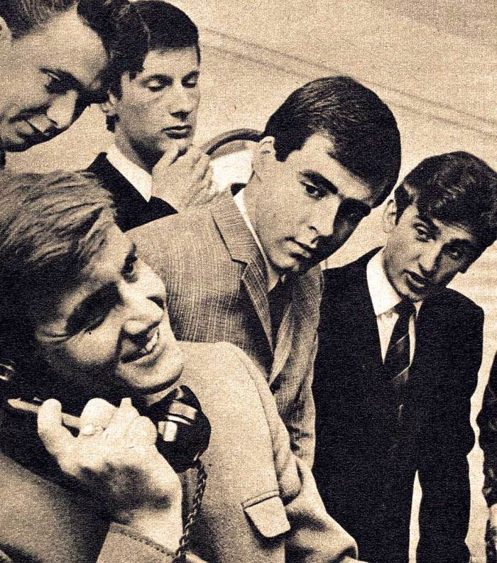 Billy J. Kramer and the Dakotas - in 1964 the British Invasion was still wholesome.