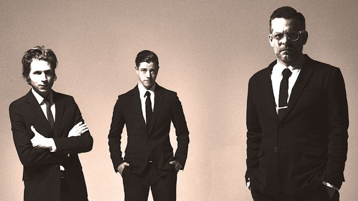 Interpol - early-on spearheads of the New York City Indie scene.