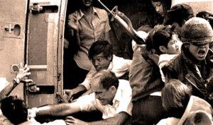 Vietnam - The panic was on.