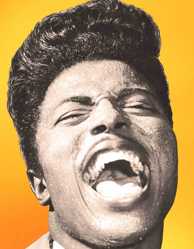 Little Richard - He represented that wave of new and baffling music to the mainstream.