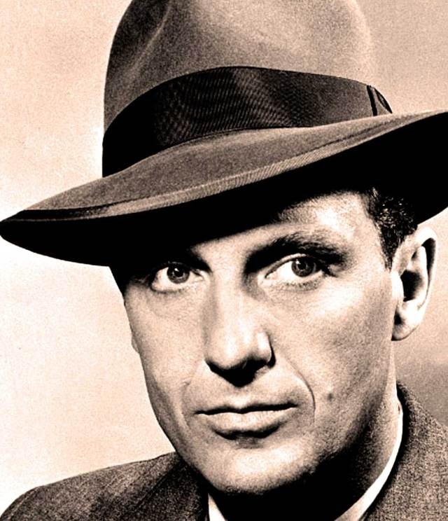 Robert Stack - long before the days he was Elliot Ness in The Untouchables, he was in the first known 3-D movie.